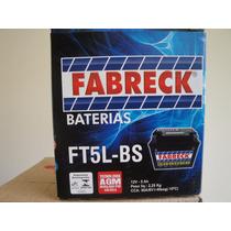 Bateria Selada Fabreck Moto Kasinski Win 110,12v,5 A/h