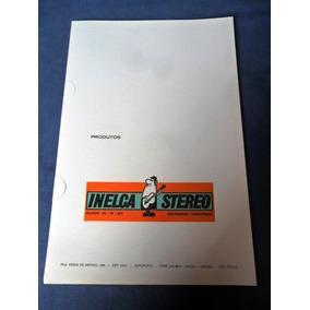 Porta Documentos E Propaganda Antiga Produtos Muntz Inelca