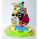 Adornos Torta Angry Birds Ben 10 Angelina Valerina Barbie