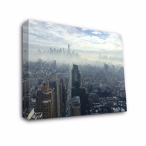 Cuadros Decorativos Modernos En Canvas Con Bastidor New York