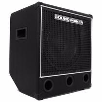 Caixa Amplificada Black Bass 120 Sound Maker P/ Contra Baixo
