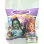 Almofada Personalizada Montagem Princesa Sofia Com Foto