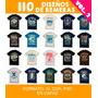 110 Diseños De Remeras Vectores Serigrafia Vol. 2