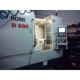 Centro De Mecanizado Cnc Romi D 600 - Casi Nuevo