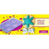 Pirulito Tema Frozen Festas Forma Para Chocolates 10unidades