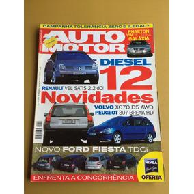 Revista Auto Motor Volvo 157 Xc 70 307 Vw Phaeton 2002