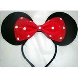 Lindos Cintillos Mickey Mouse Y Minnie & Corbatas