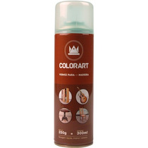 Verniz Para Madeira Spray Uso Geral 300ml Natural Brilho