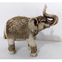 Elefante Da Sorte Indiano G Branco