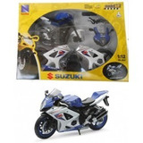 Moto Kit Para Armar Suzuki Gsrx 1000 Escala 1:12 Newray