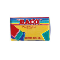 Baco Plastilina Baco Marqueta 180gr Amarilla No51