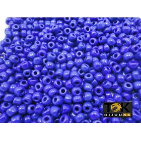 Missangão Azulão / Azul Royal Opaco 6/0 - 500g