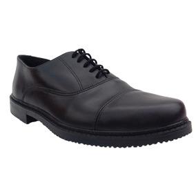 Zapato De Vestir Cuero Negro Suela Febo De Gala