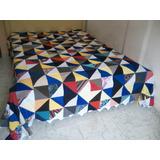 Colchas De Retalhos Triângulo G11 King