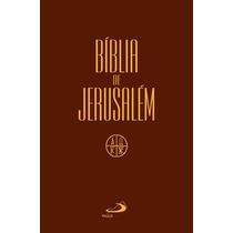 Bíblia De Jerusalém Capa Cristal Média Editora Paulus