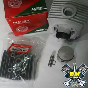 Kit Cilindro Wgk Mobilete 75cc Com Cabeçote + Jogo De Junta