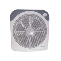 Ventilador Turbo Brisabrizz 12 Pulg Blanco / Negro