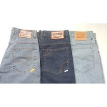 Calças Jeans Tradicional/ Ellus/ Levi