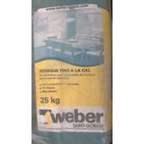 Revoque Fino Weber X 25 Kg