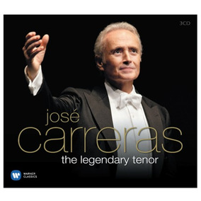 Cd Jose Carreras The Legendary Tenor 3cd