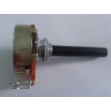 Potenciômetro Carvão 23mm 10k S/chave Lin
