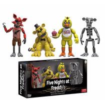 Five Nights At Freddys - Set Muñecos Originales Pack X 4!!!