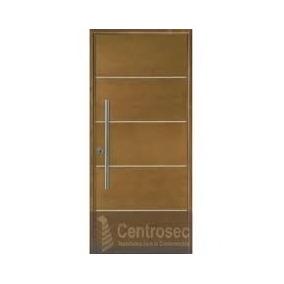 puerta madera exterior oblak linea moderna cm mm