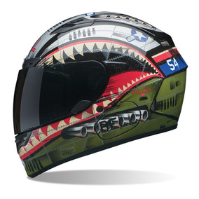 Capacete Bell Qualifier Dlx Devil May Care Fosco Oferta