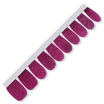 Inovador Esmalte Em Forma De Adesivo Lilás Glitter