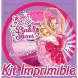 Kit Imprimible Barbie Y Las Zapatillas Magicas 2x1