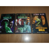 Dvd - El Increible Hulk La Trilogía ( B.bixby - L.ferrigno )