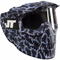 Careta Jt Raptor Lightnig Lente Mascara Gotcha Paintball Xtr