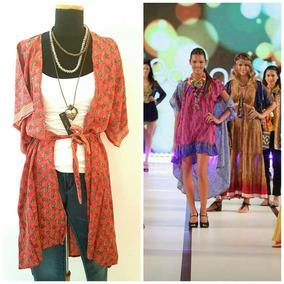 Camisola, Kimono, Casaca De Seda Natural 1 Unidad