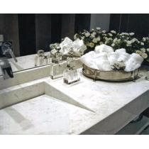 Cuba Esculpida Em Mármore Branco 70x40