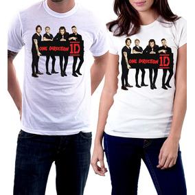 Camiseta One Direction Banda Camiseta Feminina