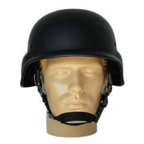 Capacete Tático M88 - Preto Fosco Liso Paintball Airsoft