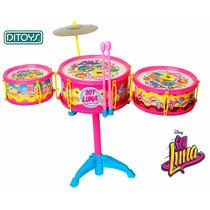 Bateria Musical Soy Luna Original Ditoys Regalo Dia Del Niño