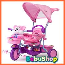 Triciclo Turbo Manija Direccional +sonidos Hermoso/ Bebushop