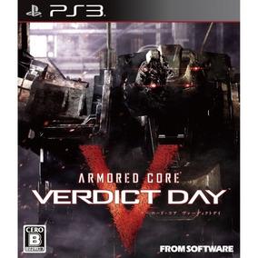 Armored Core Verdict Day Imp Ps3 Midia Fisica Lacrado