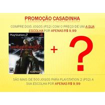 Devil May Cry 3 Ps2 + 1 Jogo A Sua Escolha ( Grátis)