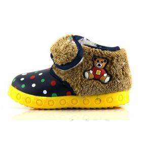 Hermosos Zapatos Afelpados Calientitos Invierno Para Niños