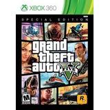 Jogo Gta Grand Theft Auto Five 5 Xbox 360 Dvd Novo Lacrado