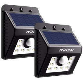 Luces Solares 2-pack Led Sensor De Movimiento Blakhelmet Sp