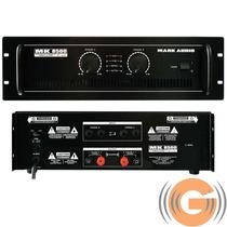 Amplificador Potência Mark Audio Mk8500 1500w Goias Musical