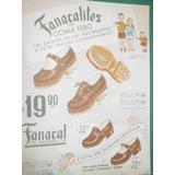 Publicidad Zapatos Calzados Fanacal Fanacalitos Suelas Febo