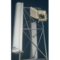 Kit Com 02 Antena Painel Setorial 5.8ghz 21dbi 120º