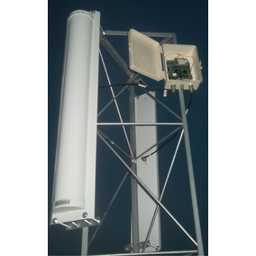 Kit 02 Antena Painel Setorial 2.4ghz 21dbi 180º H 120ºv