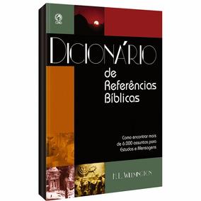 Dicionário De Referências Biblicas Mais 6000 Assuntos Cpad