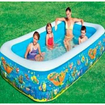 Piscina Inflable Grande Rectangular