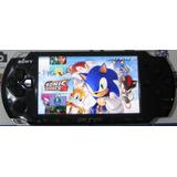 Sony Psp 3000 Original Y Chipeado +juegos +listo Para Jugar